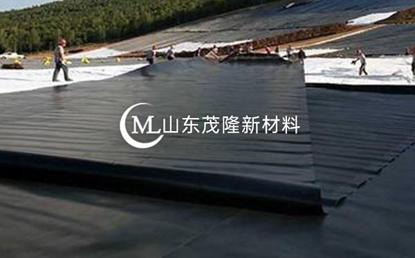 《引江济淮C001标工区》土工膜、塑料盲沟施工