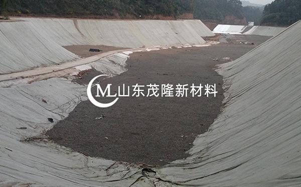 《东方环保科技有限公司》土工布、土工膜施工