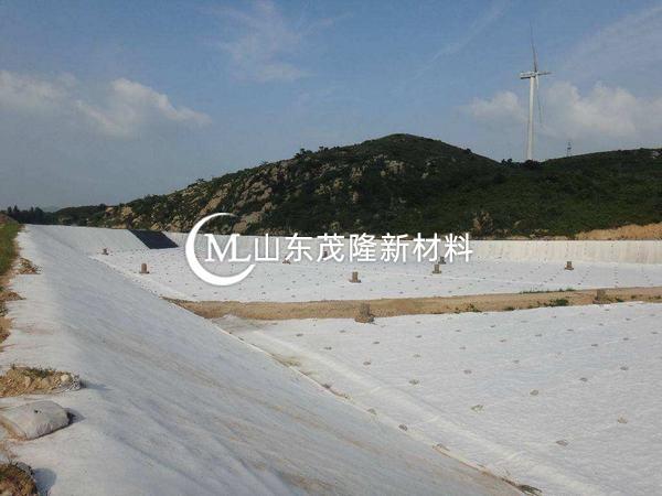 长丝土工布热性高、耐寒性好、弹性好、收缩系数低