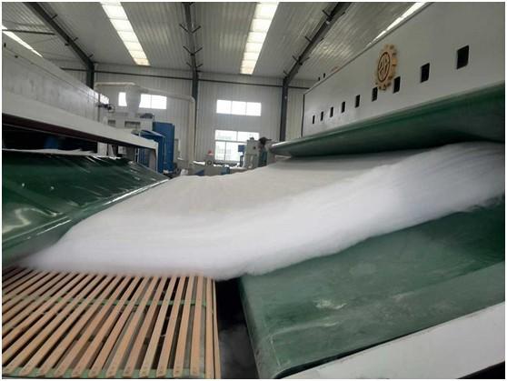 制备长丝土工布的工艺流程有哪六步