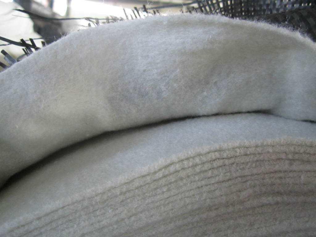土工布处理纤维老化实验