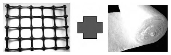 土工格栅复合反滤土工布用于处理一般软基  第1张